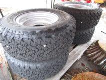 4 Reifen für LADOG 31×10,50 R15 LT