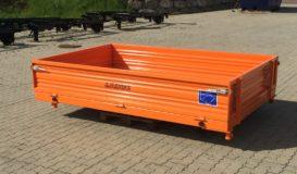 Pritsche 2600×1680 mit HARDOX-Boden & Stahlbordwände