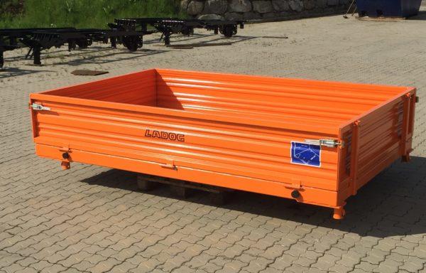 (Deutsch) Pritsche 2600×1680 mit HARDOX-Boden & Stahlbordwände — verkauft lt E.N. 30.09.2020 —