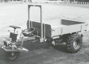 LADOG Typ Di 123 mit Fussbedienung und Lenkrad