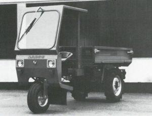 LADOG Typ Di 123 mit Wetterschutzdach
