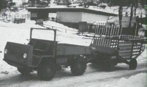 LADOG Typ Di 224 mit Ladewagen